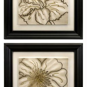 2 Wall Art Pictures - Floral