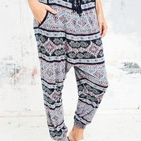 Staring at Stars Cinco Lightweight Jersey Trousers - Urban Outfitters