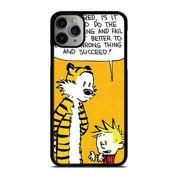 CALVIN AND HOBBES QUOTE iPhone Case Cover