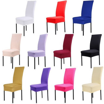 1pcs Spandex Chair Covers Lycra Cover Wedding Banquet Anniversary Party Decor [9305893319]
