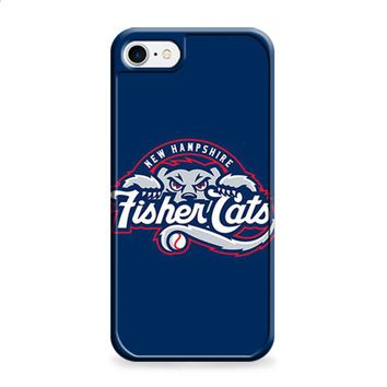 NEW HAMPSHIRE FISHER CATS BASEBALL LOGO BLUE iPhone 6 | iPhone 6S case