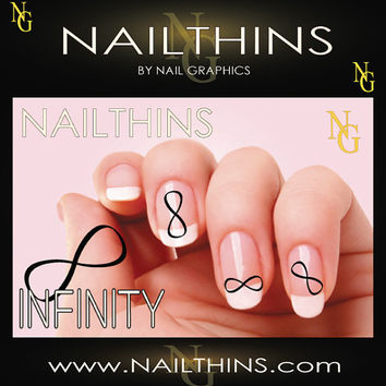 INFINITY 20 NAILTHINS  Nail Decals  Nail Art   by NailGraphics