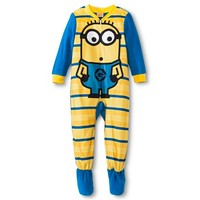 Despicable Me Toddler Boys' Minion Footed Sleeper