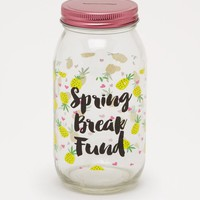 Spring Break Fund Mason Jar Bank | Beach Vibes | rue21