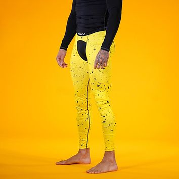 Concrete Yellow Tights for Men