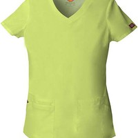 Buy Dickies EDS Signature Women's Jr. Fit V-Neck Scrub Top for $13.45