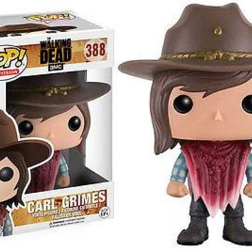 Funko Pop Television: The Walking Dead - Carl Vinyl Figure