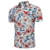 Mens Hawaiian Shirt for Summer size mlxl