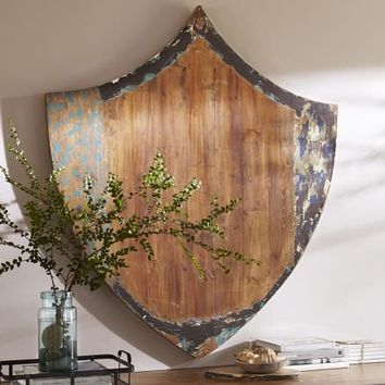 Reclaimed Wood Shield