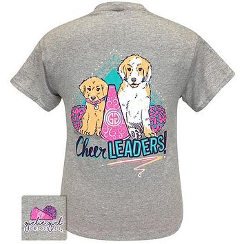 Girlie Girl Originals Preppy Cheerleader Pups T-Shirt