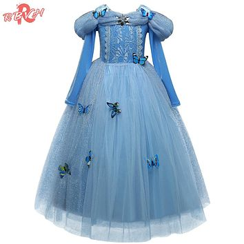 Baby Birthday Tutu Outfits Dress Up Baby Girl Dresses Children Princess Kids Party Costume Teenage Girl Fancy Ball Dress
