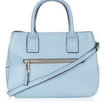 Zip Front PU Bag - Topshop