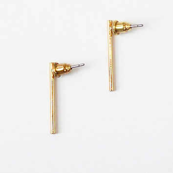 Modern Bar Earrings