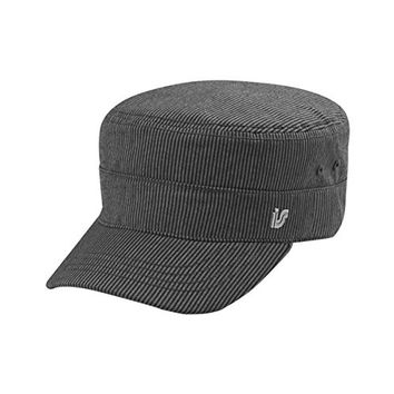Hats & Caps Shop Infinity Selections Pinstripe Fidel Cap - By TheTargetBuys | (BLACK)