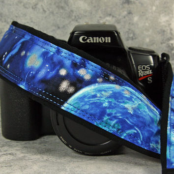 Camera Strap, dSLR, Super Nova, Galaxy, Space, Cosmos, Canon, Nikon, Pocket, Quick Release, Camera Neck Strap, SLR, 175 ww