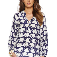 Elsa Top - Tusk In Sun - Lilly Pulitzer