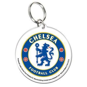 Licensed Chelsea FC Official SOCCER Acrylic Key Chain Keychain by Wincraft 259080 KO_19_1