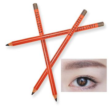 Cool Party queen crayon wood eyebrow pencil waterproof long lasting 3 colors brown grey eyebrow tattoo pen PQ007AT_93_12