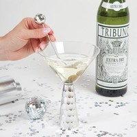 Martini Glass in Silver by 8 Oak Lane