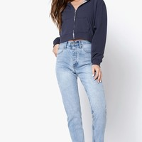 John Galt Light Blue Wash Straight Leg Jeans at PacSun.com
