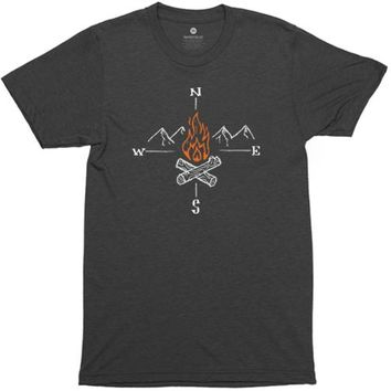 Fire Compass - Heather Black