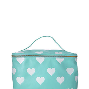 Heart Travel Cosmetic Case