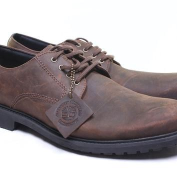 Timberland Men's Earthkeepers Concourse Buck Plain Toe Oxford