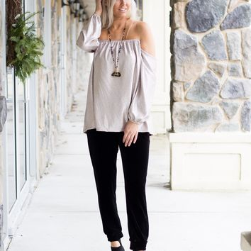 Luxe Off The Shoulder Top