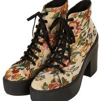 ASTRIX Chunky Lace-Up Boots - View All - Shoes - Topshop USA
