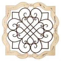 Wood Isabelline Plaque | Kirkland's