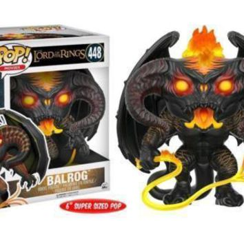 "Funko Pop Movie LOTR Balrog 6"" 448 13556"