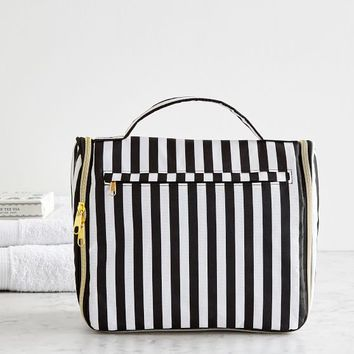 The Emily & Meritt Circus Stripe Ultimate Hanging Toiletry Case