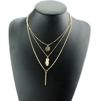 Shiny Stylish New Arrival Gift Jewelry Owl Ladies Necklace [6464833025]