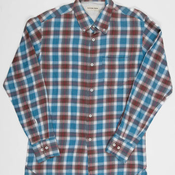 Universal Works College Shirt – Blue