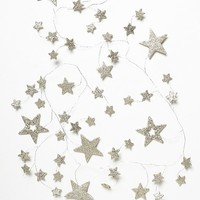 Free People Glitter Star Cluster Garland