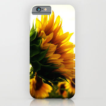 Sunflower iPhone & iPod Case by 2sweet4words Designs