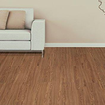 Ben&Jonah Collection Tivoli II Redwood 6x36 Self Adhesive Vinyl Floor Planks - 10 Planks/15 sq Ft.