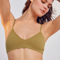 Out From Under Meara Seamless Ribbed Bra - Urban Outfitters