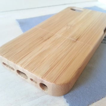 Wood iPhone Case 5/5S Zebra Wood Bamboo Phone Case