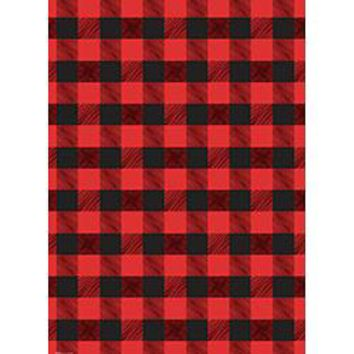 Buffalo Plaid Wrapping Paper Roll