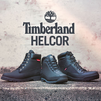HELCOR SINGLE SOLE SCUFF PROOF BOOT - Black - TIMBERLAND