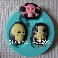 skull mold soap,fondant candle molds,sugar craft tools,silicone forms for soap,fondant resin silicone molds for cakes