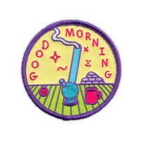 "GOOD MORNING 3"" patch"