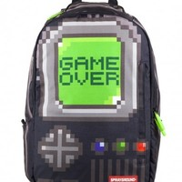 Pixel Game Over (Black) | Sprayground Backpacks, Bags, and Accessories