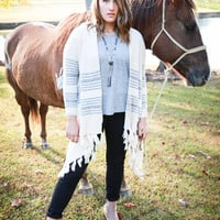 Scout Striped Cardigan