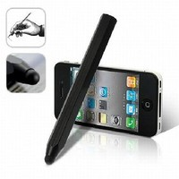 Capacitive Touchscreen black Stylus pen for iPhone iPad [4654] - US$2.01 - China Electronics Wholesale - FlyDolphin.com