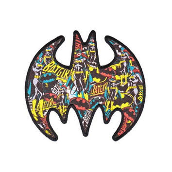 Batgirl Collage Logo Iron-On Patch