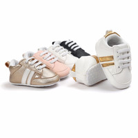 New Brand Sneakers Romirus Autumn baby moccasins infant anti-slip PU Leather first walker soft soled Newborn 0-1 year Baby shoes