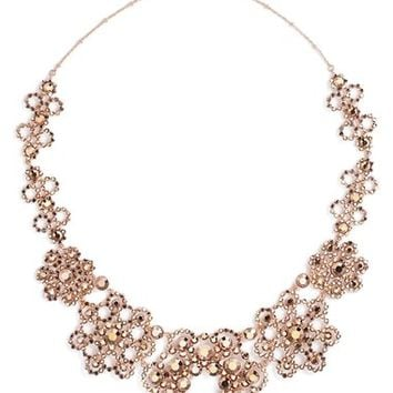 kate spade new york 'crystal lace' collar necklace | Nordstrom
