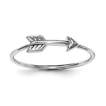 Sterling Silver Petite Arrow Ring